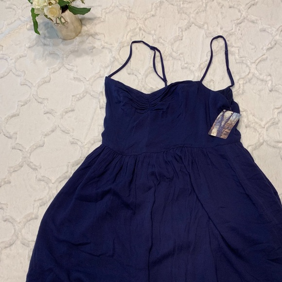 Lucca Couture Dresses & Skirts - NEW Luca Couture scrappy dress - Navy M - NWT